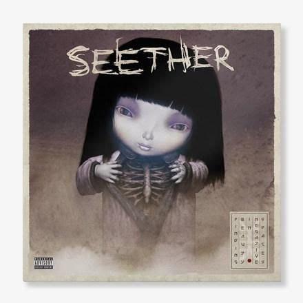 Seether - Finding Beauty in Negative Spaces Colored Vinyl
