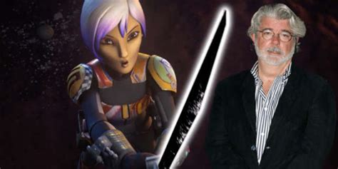 Star Wars: George Lucas Created the Darksaber for The