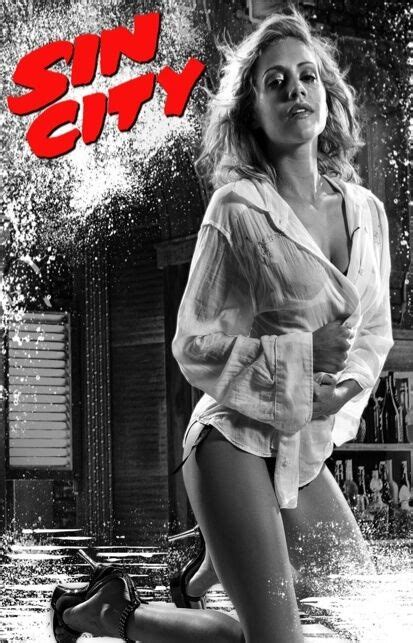 SIN CITY Movie Poster Brittany Murphy Sexy Hot Comic Frank