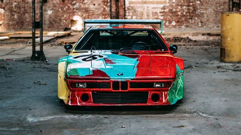 Gallery: the gorgeous BMW M1 Art Car in a disused factory