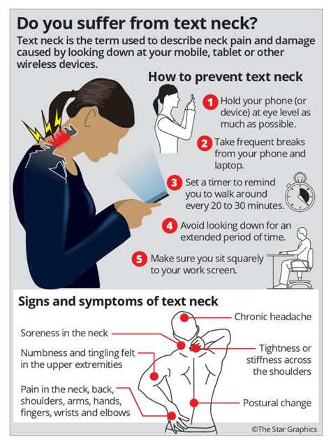 Right posture can prevent text neck, Health News - AsiaOne