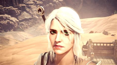 Monster Hunter World: here's an overview of Ciri's Witcher