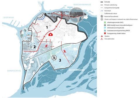 Compartmentalisation on an urban scale | Urban green-blue
