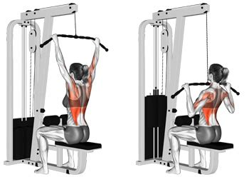 Wide Grip Lat Pulldowns - The Most Popular Back Width Builder
