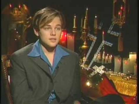 Romeo and Juliet - Interview With Leonardo DiCaprio - YouTube