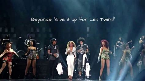 """LES TWINS   Beyonce: """"Give it up for LesTwins!""""   Mrs"""