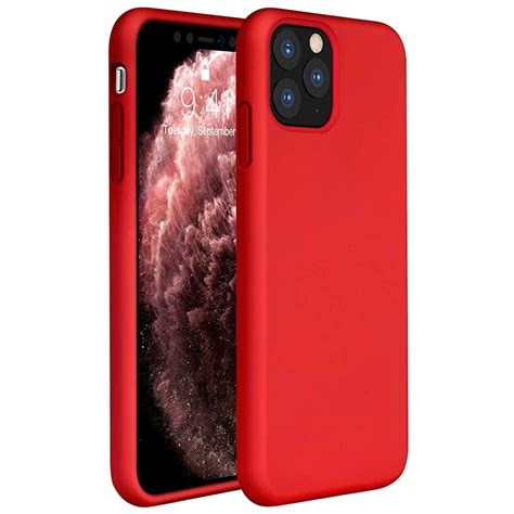Silicone case iPhone 11 Pro (rood) - Phone-Factory