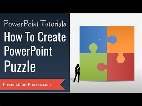 How To Create Puzzle in PowerPoint ( DIAGRAM SERIES) - YouTube