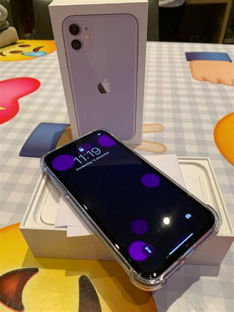 iPhone 11 paars 128 gb
