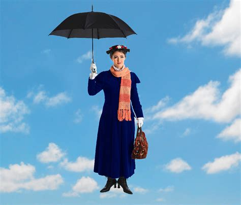 Mary Poppins drops in for a holiday visit at Chattanooga