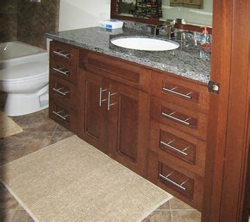 Bathroom Cabinets from Darryn's Custom Cabinets serving