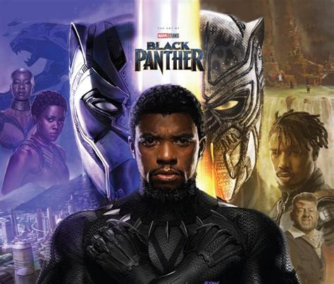 Book review–The Art of Black Panther highlights concept