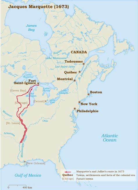 Jacques Marquette 1673 | Virtual Museum of New France